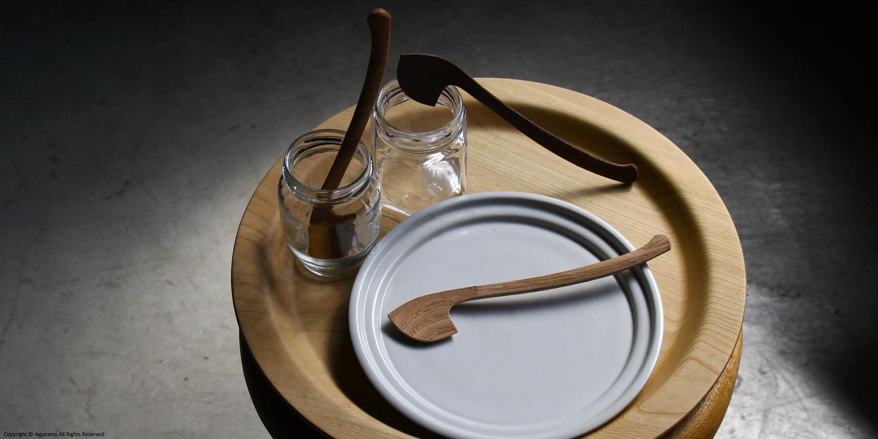 Wooden Jam spoon