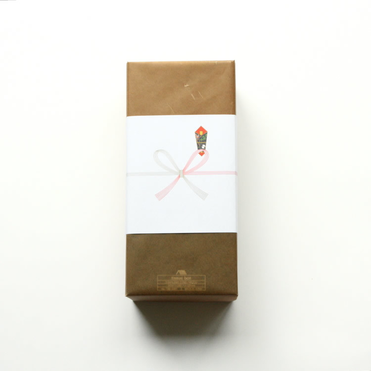 Waxed paper (with a string wrapped in one direction)