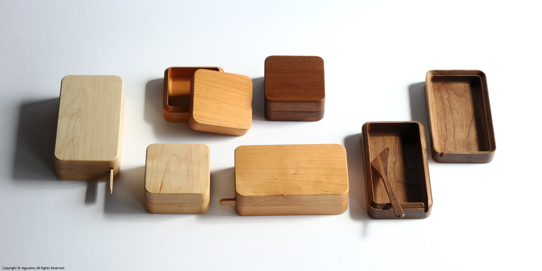 「Kakudo バターケース」レギュラーサイズとハーフサイズ