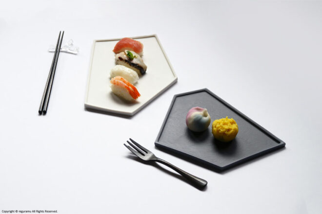You can enjoy a variety of dishes such as Japanese, French and sweets.