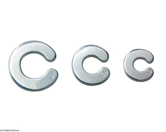 「C-cuff / silver」3種類