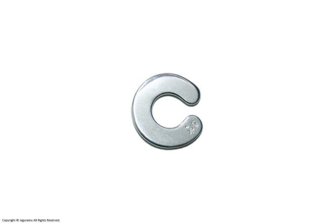C-cuff, M / silver