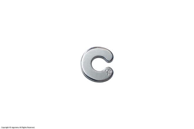 C-cuff, S / silver