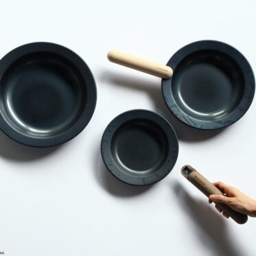 JIU, FRYING PAN and HANDLE