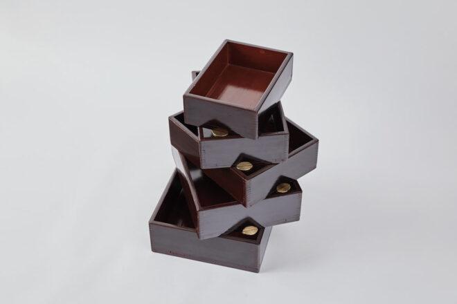 Urushi Layered Boxes 001