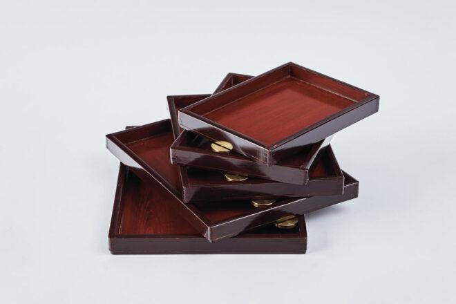 Urushi Layered Trays 001