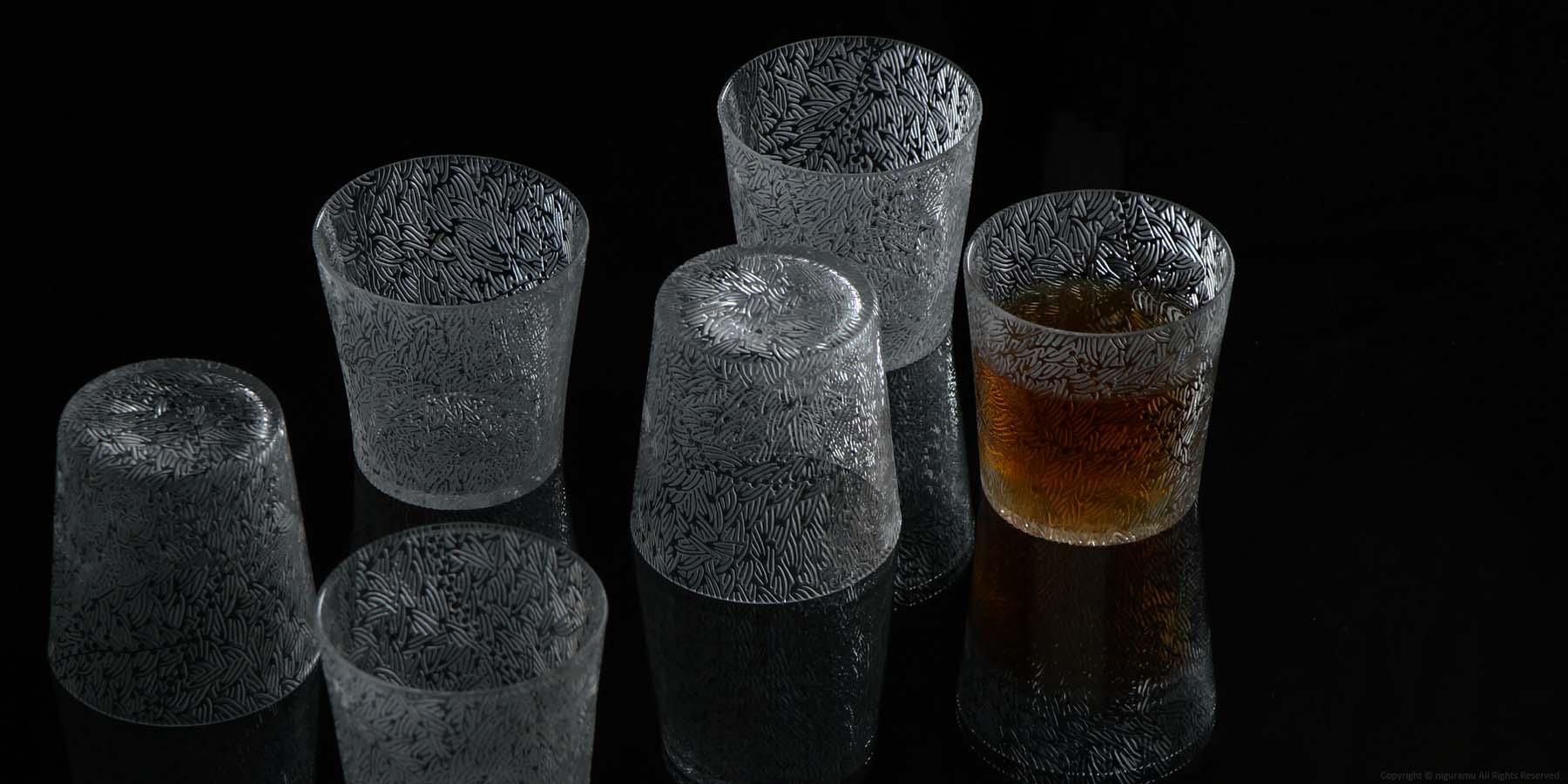Small glass , mebuku